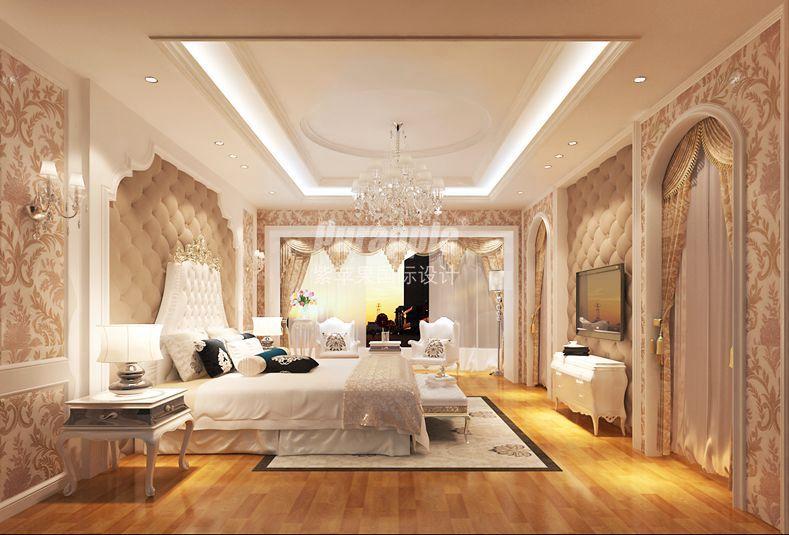 硬包银镜,花纹地毯
