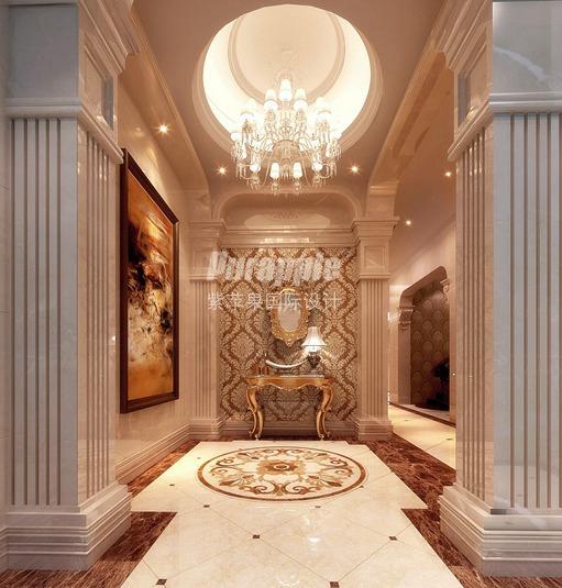 玄关是一个缓冲区域,是从室外进入室内的一个过度地带,功能主要用于室内换鞋、更衣等,也叫做斗室、过厅、门厅。玄关的面积虽不大,但是使用频率高,所以也比较受重视。那么,别墅玄关装修如何搭配呢,有什么技巧呢? 首先,看风格。 玄关的装修风格必须与室内的整体风格保持一致,可以从室内借鉴装饰元素。