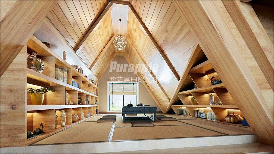 日式别墅装修风格里的那些可爱的榻榻米地垫