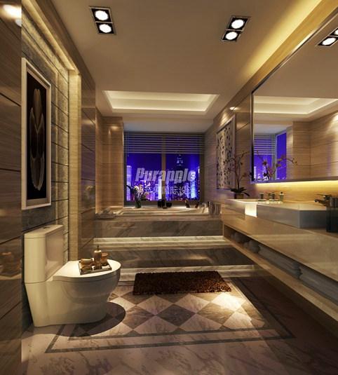 上海私人别墅设计卫生间要装修不可忽略的注意事项