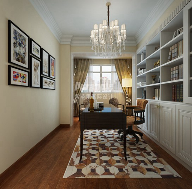 上海两层别墅设计混搭风格装修案例