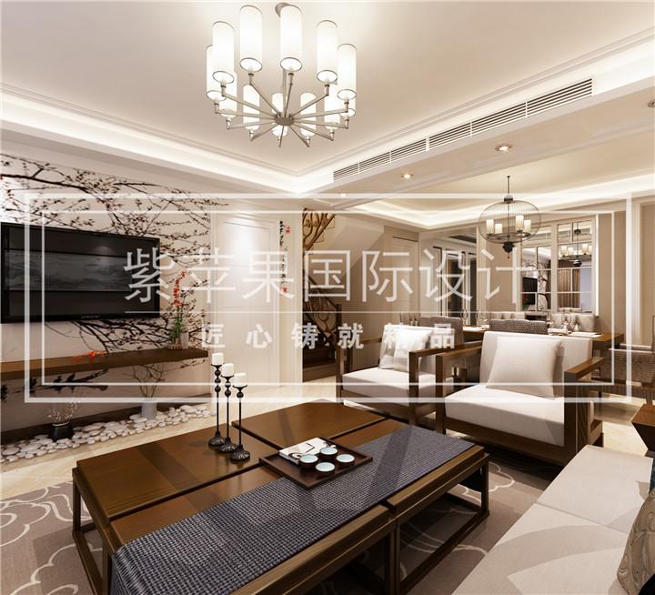 别墅电视矮墙欧式经典装修图