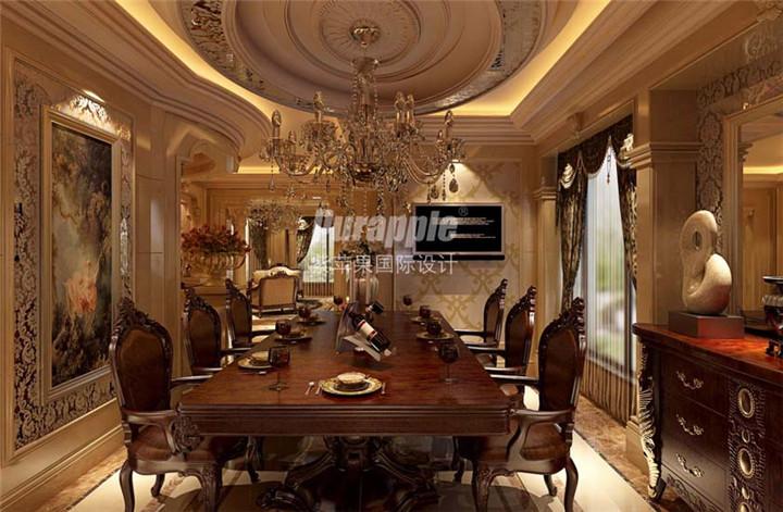 水晶灯几乎成为巴洛克设计风格的经典代表,以华丽,丰富的装饰和大量的