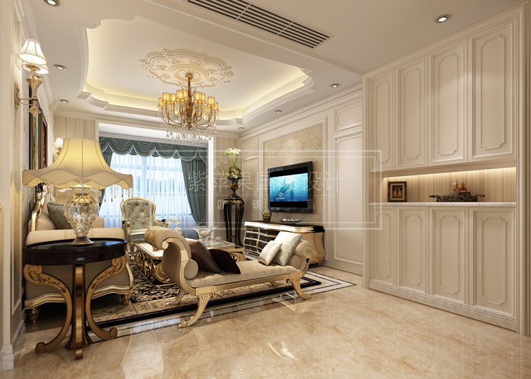 西方建筑文化中,比较有代表性的像欧式,美式风格都别具特色,欧式往往华美富丽,雍容华贵,浪漫温馨;美式风格讲究艺术铺设,设计自由开放,崇尚自由舒适的生活理念。一般来说,欧式风格因为注重塑造空间雍容华贵的特色,所以适合建筑面积大的别墅,像独栋别墅多喜欧式设计。欧式古典风格最显奢华气派,装修上最容易出效果,因而受到人们的广泛欢迎。  欧式别墅设计效果图   把欧式古典风格这个舶来品直接在复制在家里未必合适,让它入乡随俗变成更适合自己生活方式的风格才是正确的方法。打造中国式欧式古典风格需要抓住那些要点呢