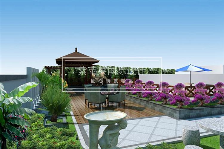 北方家庭庭院景观设计