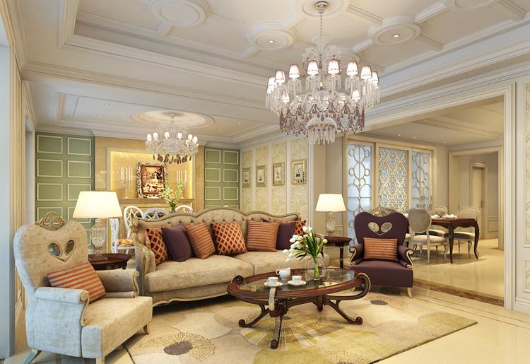 欧式古典的奢华之态,明亮几净的磁砖与高亮度的照明,太阳状修饰物、古典沙发、精致雕花在宏伟的建筑空间中找到了最佳呈现方式和位置。这也使得欧式古典主义收到很多业主的喜爱和赞美,下面紫苹果小编就给大家介绍一下欧式古典主义别墅设计的要点吧:   暗金黄色调的搭配让人的视觉感到十分舒服,恰可冲淡因快节奏的生活带来的疲劳感。古典奢华应用到空间的繁复设计中来,整体体现出欧洲贵族的奢华大气之美。金色欧式主色调硬装,使色彩看起来明亮、大方,使整个空间给人以开放、宽容的非凡气度,让人丝毫不显局促空间中静静地闭目养神,任美
