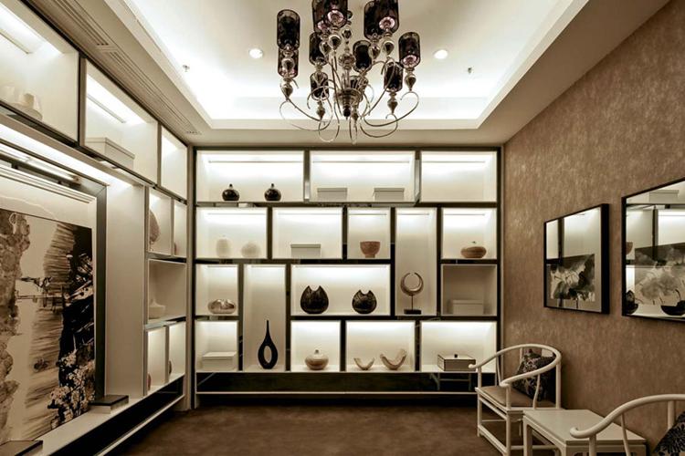 中式别墅茶室装修设计