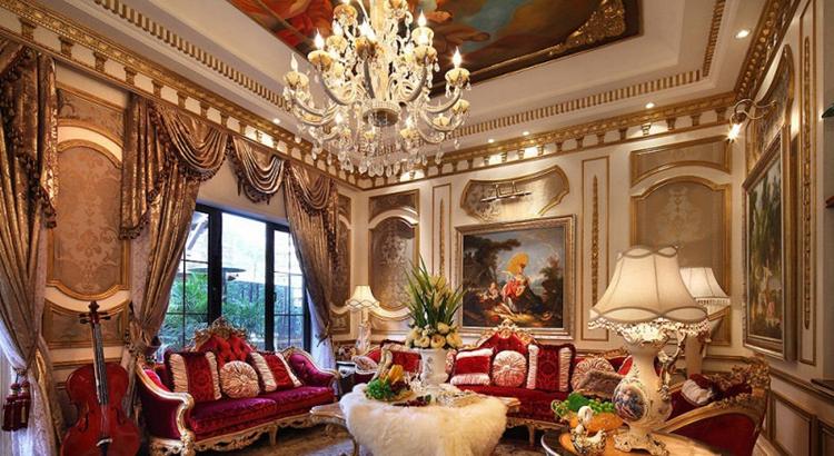 300平米别墅装修设计,浪漫欧式情怀!