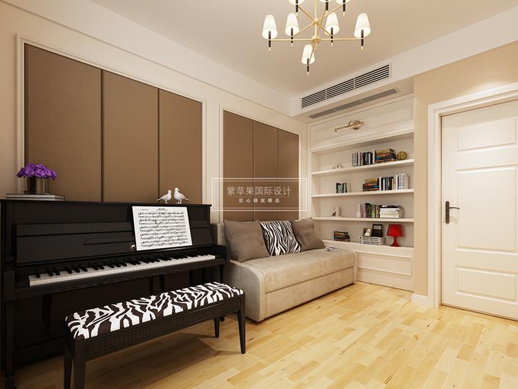 一百平房子装修如何搭配最适合自己的色彩方案?上海紫苹果装饰公司设计师通过运用大量的原木风格色彩,结合时尚素雅的淡色系,设计了一套非常温馨舒适的一百平房子装修效果图,下面一起来看看吧。  进门玄关设计了一处拱廊,结合业主的户型结构,进行了一个简单的装饰处理,入门右手边即是餐厅,地板采用原木色彩的拼接地板设计,地板纹路的呈现自然而且优美,触感非常好。