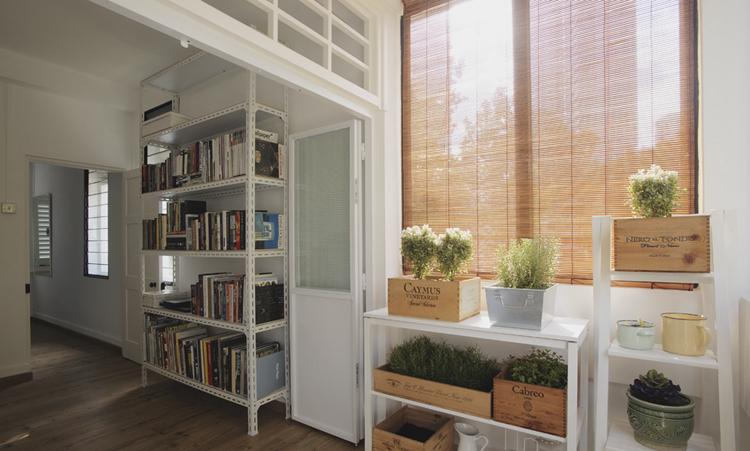 借助于装修设计公司的改造来打造一个书房
