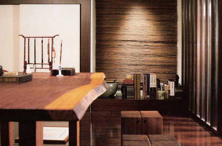 新中式装修效果图-紫苹果国际设计-匠心铸就精品