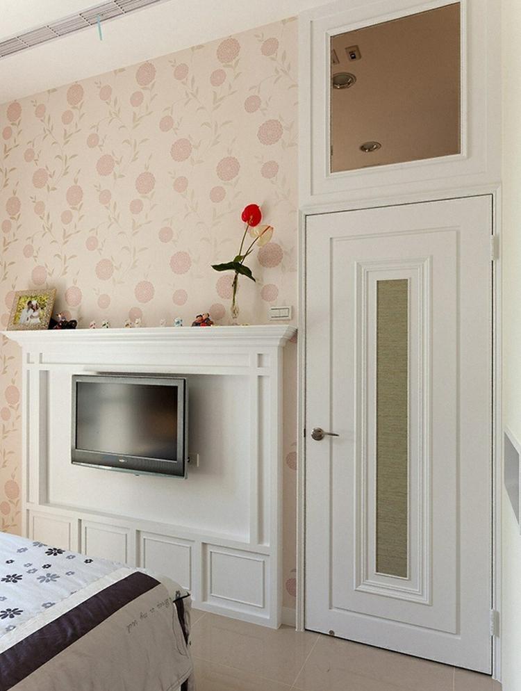 欧式客厅背景墙装修效果图图片