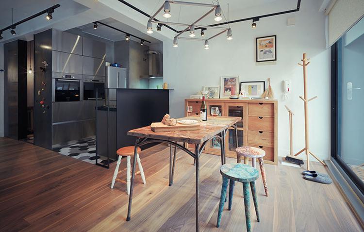 100多平房子室內裝修效果圖-紫蘋果國際設計