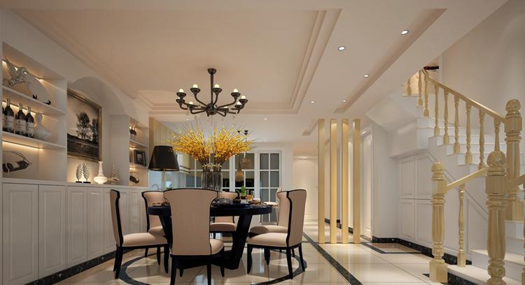 一百多平房子简单装饰效果图,清爽舒适