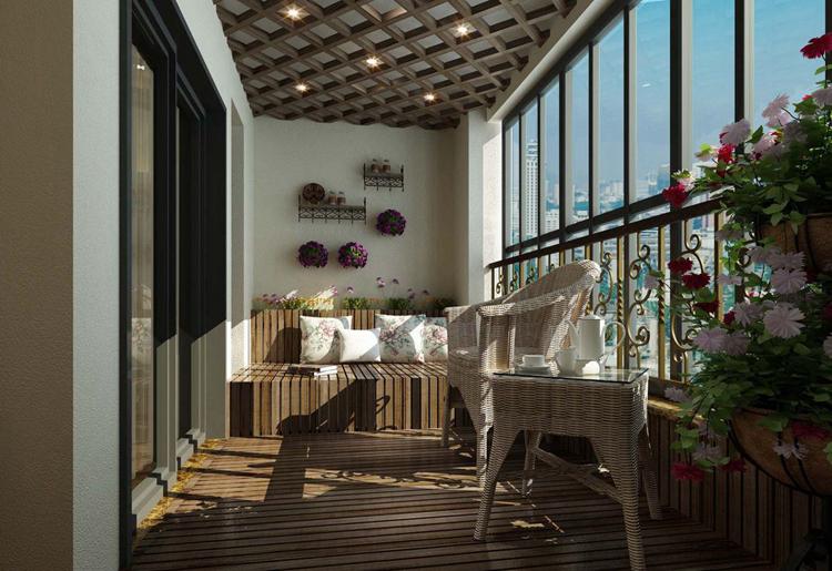 别墅阳台装修形式多样,结构简便灵活,可以根据业主的选择进行开放式或者封闭式设计改造,很多业主往往忽略掉了阳台这一块儿的装饰,只是把它当成晾衣和小憩或者抽烟的地方,实际上别墅装修阳台经过合理的利用也能打造出非常舒适的一处风景。下面一起来看看200多平别墅阳台装修效果图吧。