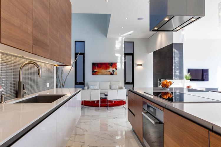 200多平别墅厨房装修效果图-紫苹果国际设计-匠心