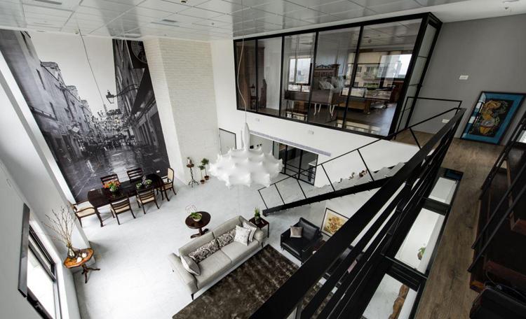 简约复式150平米房子软装设计