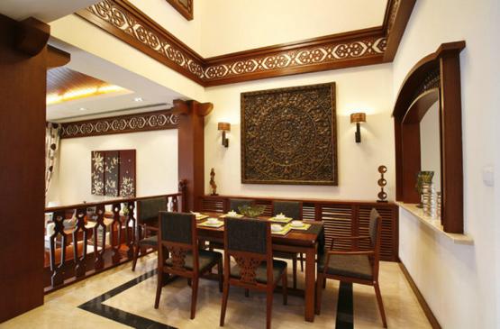 天然美居——一百八十平房屋装修-紫苹果国际设计