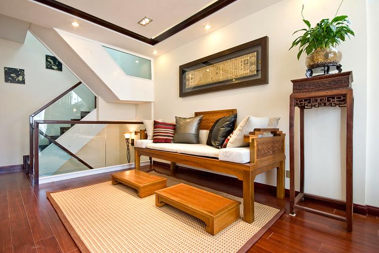 新中式风格200平房子装修,玩出新态度