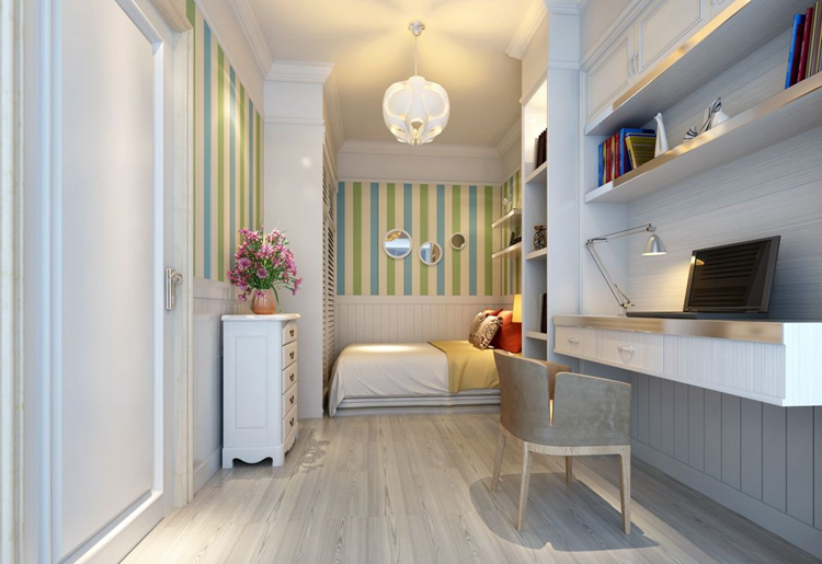 130平房子简约风格装修,欧式也能简约
