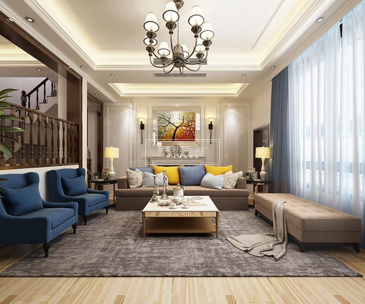 新家装修选择什么样的风格比较好?上海紫苹果装修设计公司针对130平米左右的户型,推出了一些舒适的装修设计方案和一些装修相关的技巧和方法,下面跟随笔者一起来看看现代欧式130平房子装修,给新家装修来点不一样的体验吧。  现代欧式提倡一种简约时尚的生活方式,并通过欧式风格自身独特的魅力来展现出来,这一点和简约现代的轻快明丽的节奏不同,欧式更加注重生活的细节和品位,赋予家居生活优雅温馨,舒适惬意的质感。
