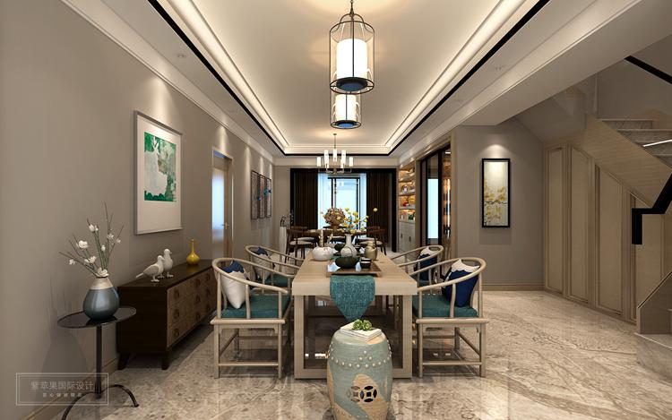 房型:平层 风格:新中式 面积:220平米 主要物料:仿古砖、乳胶漆、木质、木地板,硬包等  这套案例采用的是新中式风格,由于其运用了亮黄色来点缀,因此室内整体给你耳目一线的视觉感受,作为现时代下的中式风格家居文化,上海紫苹果别墅设计带来的这一套220平米新中式风格装修案例,就有这舒适和时尚的整体表现。   设计说明:本案用现代的手法和材质还原古典气质,撷谷绎今,将中国元素融入整体空间规划与布局,打造一个充满理性和智慧的现代人文家居环境。   我们的设计师创新地把相异功能空间统一风格,各自视为独立的风景,
