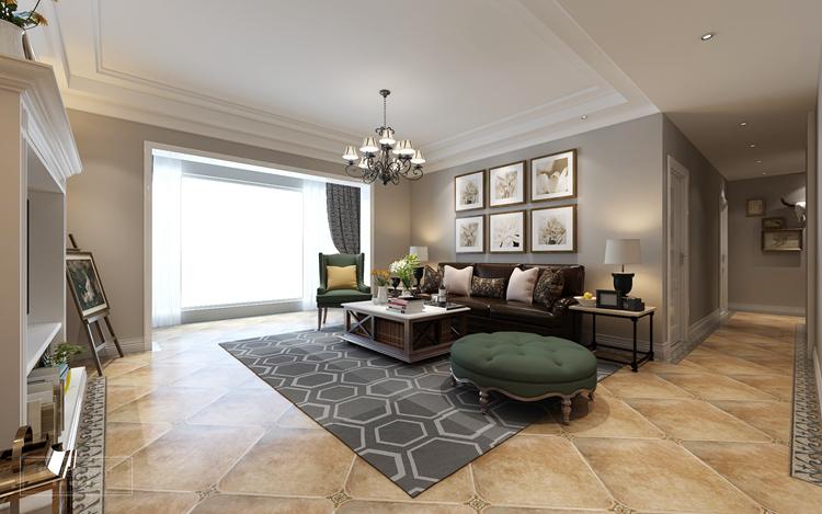 房型:平层 风格:美式风格 面积:160平米 主要物料:仿古砖、乳胶漆、木质、木地板等  充满现代气息的美式风格装修,总是能勾起人们对生活的期待和向往,今天要介绍的160平米美式装修装修,采用的正式现代非常流行的美式家居风格,不同于大户型的别墅装修,这套平层户型的美式设计也有很多特点呢!