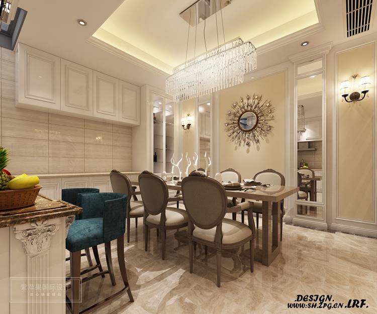 河畔艺术现代欧式200平房子装修,全新浪漫欧式格调