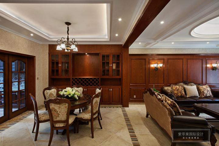休闲美式350平米别墅装修案例