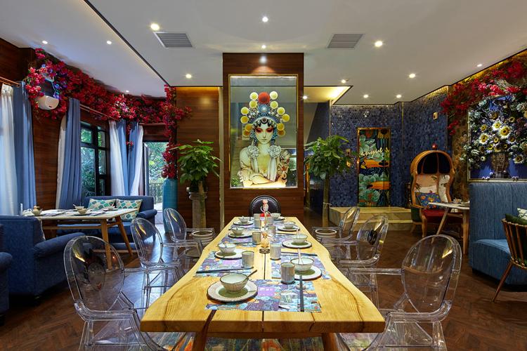 600平米东南亚风格餐厅装修