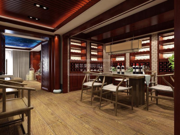 上海装修公司500平中式设计方案