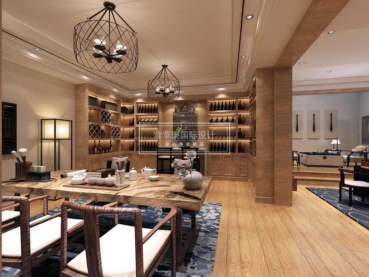 新中式可是有着媲美欧式的大气质感,而且室内装饰上面可以根据设计师的设计能力,展现不同的效果,一套好的新中式设计方案,不仅好看,住起来也是非常的舒适顺心,下面一起来看一套由紫苹果别墅装修公司分享的300平复式房新中式装修设计方案吧。 房型:复式 风格:新中式 面积:300平米 设计:上海紫苹果装饰工程 设计说明: 本案风格定位为新中式风格。区别于传统中式风格的厚重与严谨,新中式抽离出传统中式元素,以现代手法加以展现。在整体上,是以白色灰色等浅色系的颜色做为主导,融合重色,一改传统中式浓重木色对比的沉闷感觉。