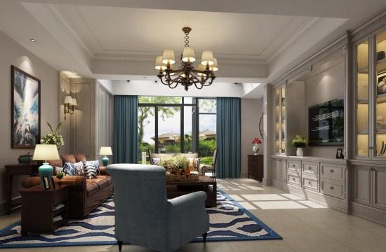 卫生间的设计以白色为主色调,四周墙壁、地板及浴缸都采用的是白底灰色花纹的大理石,光洁雅致。金属包边的方镜及金属吊灯,彰显华丽与美观。卧室中浅灰的窗帘与浅灰的地毯相呼应,水晶吊灯彰显别墅设计轻奢之感。  还有更多装修风格尽在上海紫苹果国际设计,我们是上海专业的别墅装修公司,免费报价、免费量房,量身打造专属于您的别墅设计,欢迎前来咨询。