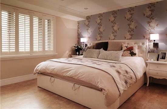 140平美式家装设计——高雅与生活的完美结合-紫苹果