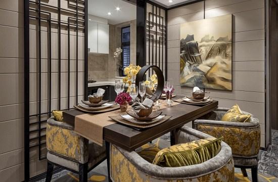 宝山区独栋别墅装修——高贵的中式风