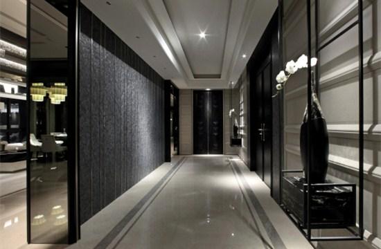 中式走廊墙壁设计