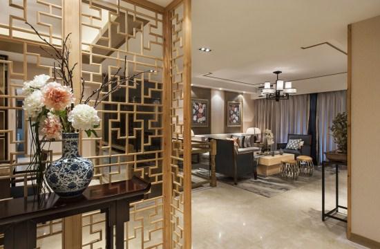 当然,在装修的行业中,细节也十分重视,这款 上海中式别墅风格装潢案例