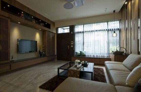 宽敞自在的上海别墅设计装潢