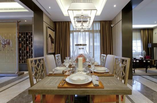 活力满满的上海别墅新中式装修