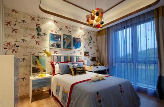 背景墙 房间 家居 起居室 设计 卧室 卧室装修 现代 装修 550_360